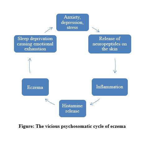 The Viciius psychosomatic cycle of eczema