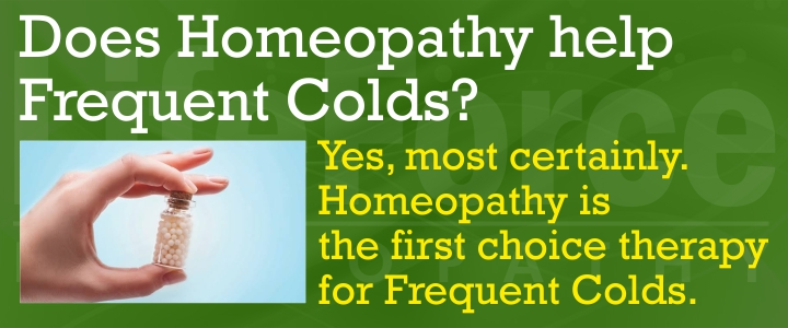 Homeopathy for Frequent Colds