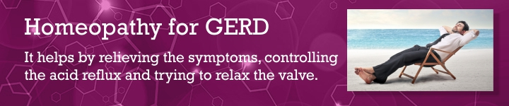 Homeopathy for gerd