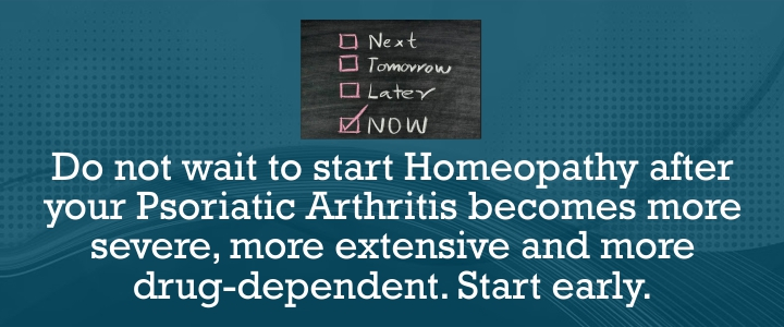 Best Homeopathic Treatment for Psoriatic Arthritis