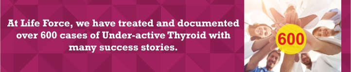 Thyroid treatment at life force